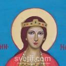 Hand-painted Icon Saint Nedelia (Sain  Kiriakia )