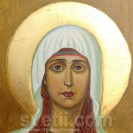 Hand-painted Icon Saint Nina Educator of Georgia